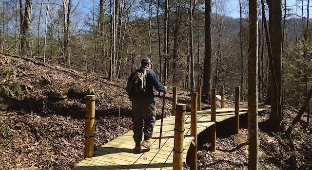 Bridge at Buffalo Creek Multi-Use Park Lake Lure NC